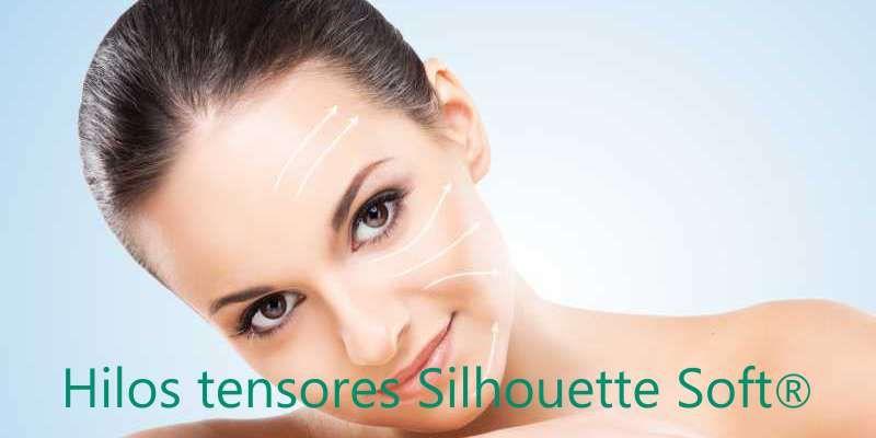 Elevación de volúmenes faciales con hilos tensores Silhouette Soft