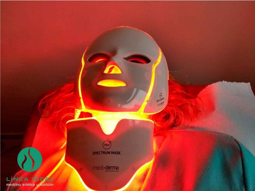 Máscara Led Los Beneficios De La Luz Led Clínica Línea Ideal