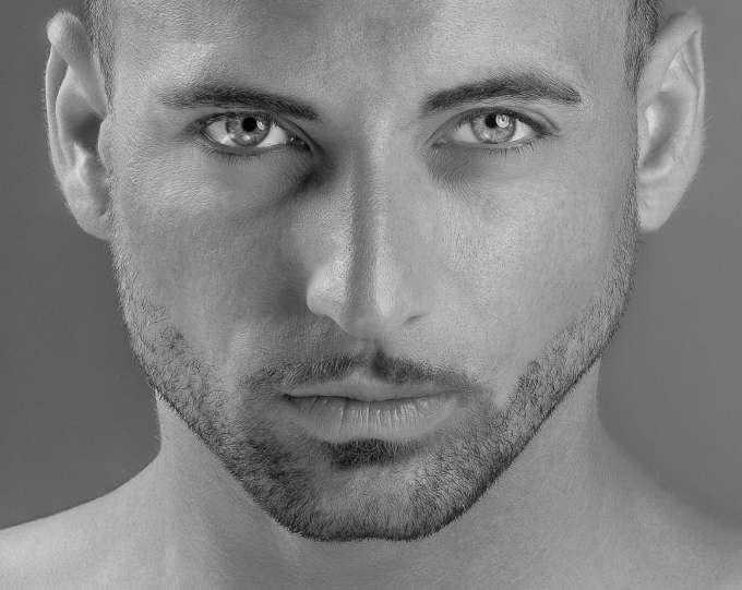 Masculinización del rostro