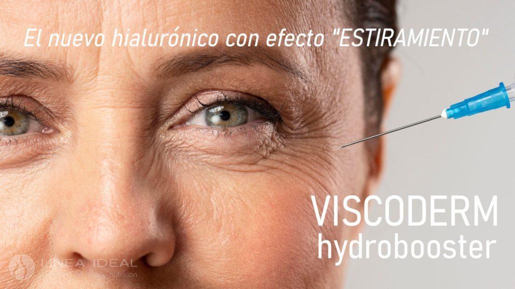 Nuevo ácido hialurónico Viscoderm Hydrobooster para el tratamiento de las arrugas finas